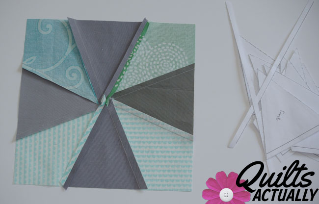 Square Dance quilt block tutorial